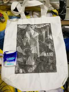 Hare Collect Point tote bag 環保袋 簡約 Fashion