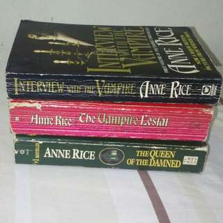 Complete volume of the vampire chronicles