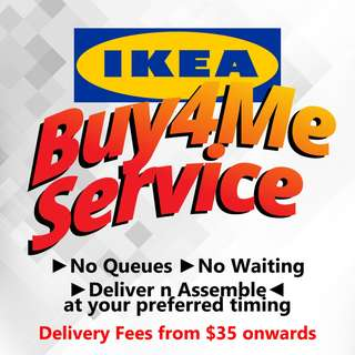 IKEA BUY4ME, Delivery & Assembly Service