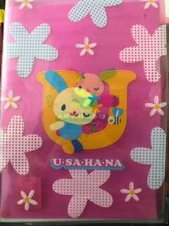 Sanrio Usahana A4 File 文件夾