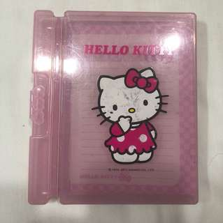 authentic Hello Kitty Pad & pen holder
