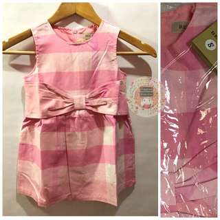 Pink Checkered Dress (Burberry Inspired)