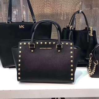 Authentic Michael Kors Selma studded medium