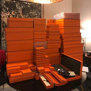 Authentic Hermes Box