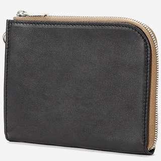 porter 真皮拉鏈銀包 leather zip wallet 羊皮錢包 purse