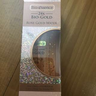 Bio Essence Rose Gold Water- 100ml ( Brand New sealed)
