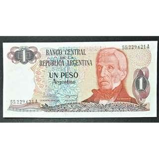 Argentina 1983 1 peso UNC