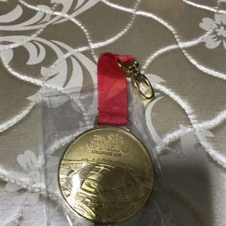 Sea games gold medal
