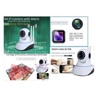 720P WiFi wireless PTZ CCTV network home security IP camera night vision