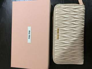 Miu miu wallet 100% brand new
