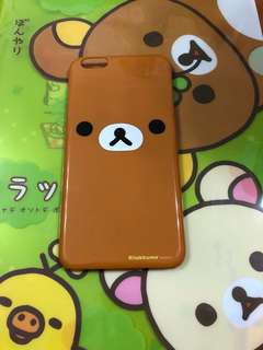Rilakkuma鬆弛熊iPhone 6plus case 手機殼