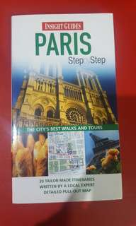 Paris travel book step by step