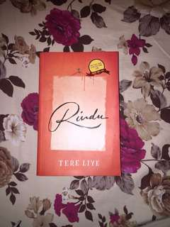 Novel Rindu by Tere Liye BEST SELLER