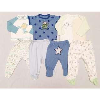 Pakaian Tidur Bayi (Boy 3-6 mos) #MakinTebel