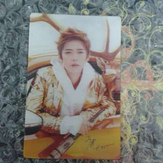 [READY STOCK] LUHAN CARD WITH SIGNATURE