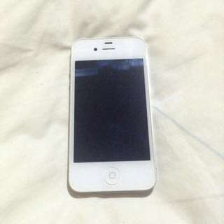 iPhone 4s white 16gb smartlocked