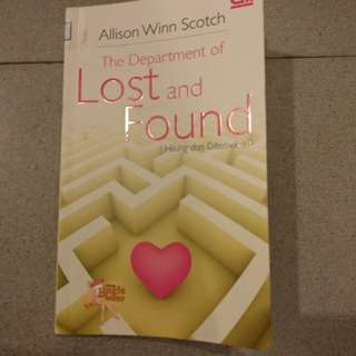 chicklit the department of lost and found - allisson