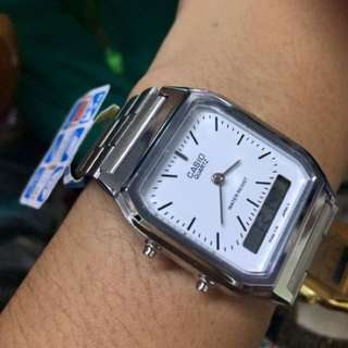 Casio vintage wAtch silver