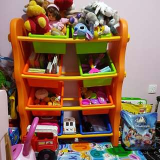 Toys storage (toys not included)