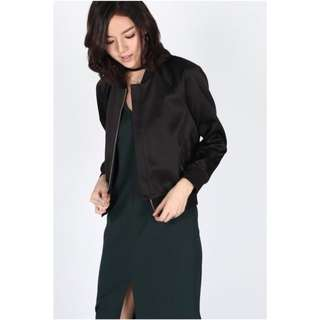 Breille Bomber Jacket By Love Bonito