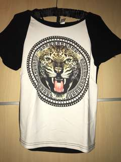 H&M tiger shirt t-shirt