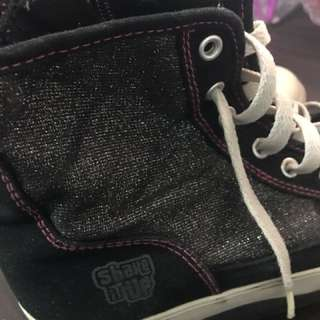 Preloved Wedge Sneakers (Ankle Boots). RFL: does not fit anymore