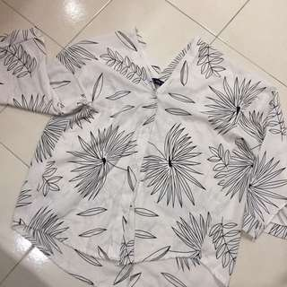 Cozy style floral top