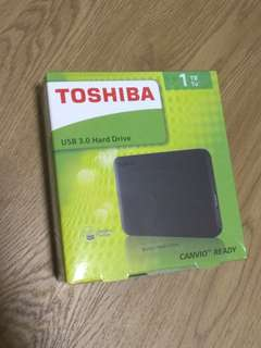 Toshiba hard drive 1TB