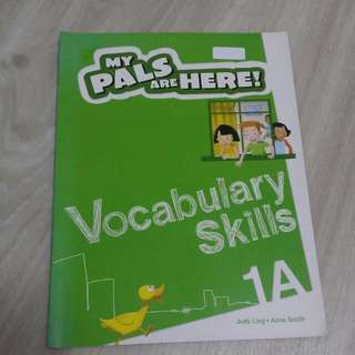 My Pals Are Here Vocabulary skills
