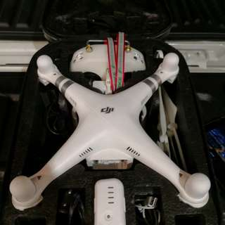 DJI PHANTOM 3 ADVANCE TO LET GO