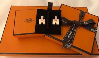 Hermes Eileen Earrings