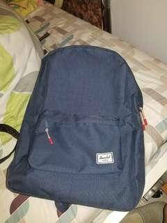 Herschel Navy Blue Backpack 90%新