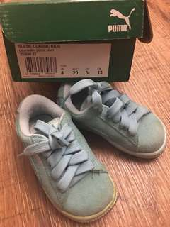 GUC puma unisex ( boy/ girl) suede shoes 13CM