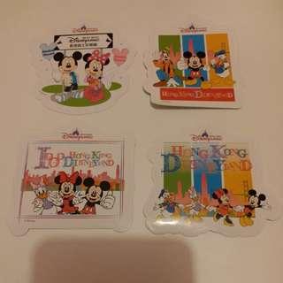Mickey米奇/Minnie美妮/米妮/Goofy高飛/Donold Duck唐老鴨/Daisy Duck黛絲/香港迪士尼樂園/Disney/Disneyland/迪士尼貼紙