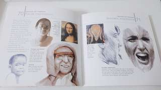 Face parts art reference book