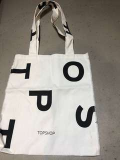 Topshop Canvas totebag