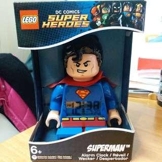 LEGO SUPERMAN CLOCK 樂高超人鐘