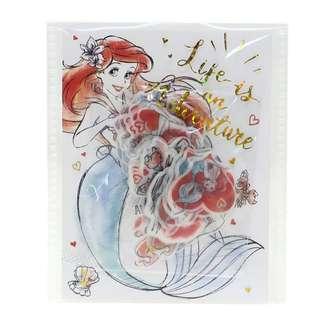 日本直送 The Little Mermaid 小魚仙 Ariel 包裝貼紙
