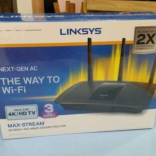Linksys EA7500 Max Stream AC1900 + MU-MIMO GIGABIT ROUTER ( BRAND NEW UNWRAP )
