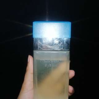 D&G light blue tester perfume