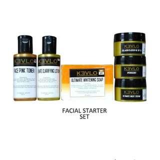 Kevlo Facial Starter Set