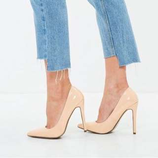 Misguided Pointed Toe Court Shoes
