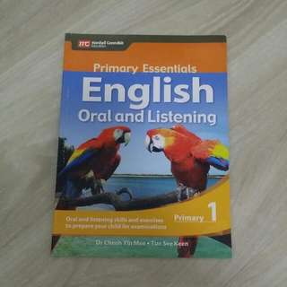 Primary Essentials English Oral And Listening
