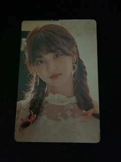WTS Jihyo candy pop comics photocard
