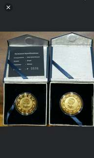 Tiger Beer 24k Gold Plated Coin