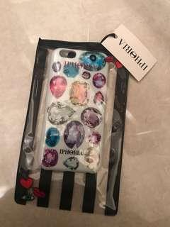 Iphoria iphone 6/6S phone case 手機殼 閃石圖案 bling bling print