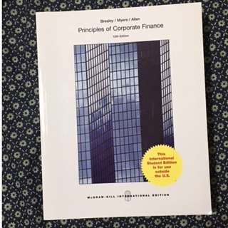 Principles of Corporate Finance by Brealey / Myres / Allen