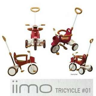 iimo tricycle eternal red