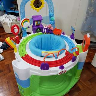 Exersaucer activity and learning center