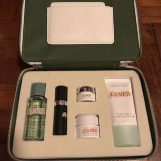 Creme de la mer skincare set 50% off (free samples)